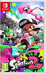 Go it alone or team up with friends and family to take down enemy inklings and claim victory Traditional 4-on-4 turf battles return in Splatoon 2, along with new stages, new fashions and new weapons Players can now compete on the TV or on the go in h...