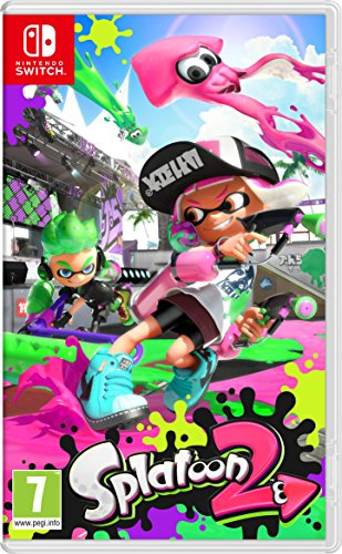 Splatoon 2, Nintendo Switch, Video Juego