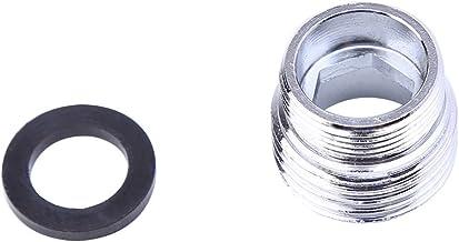 grifo de 15-22 mm de di/ámetro boquilla de filtro de extensi/ón de manguera de grifo con filtro de chorro de 16,5 cm Aireador de ducha giratorio con cabezal de rociado de extensi/ón de grifo