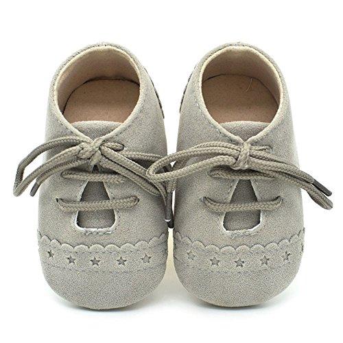Nyuiuo Zapatos para Bebés Y Niños Zapatillas De Deporte Zapatos Antideslizantes con Suela Suave Y Cordones Zapatos De Bebé con Cordones Zapatos Individuales Flash Zapatos para Niños Pequeños