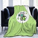 fccvoll Invader Zim Gir Luxury Fleece Blanket Winter Super Soft Thick Blanket Blanket Bed Warm Blanket Couch Blanket 50'x40'
