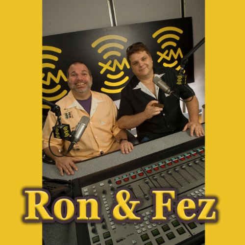 Ron & Fez, Jeff Goldblum, April 18, 2012 cover art