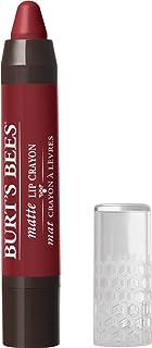 Burt's Bees 100% Natural Origin Moisturizing Matte Lip Crayon, Redwood Forest - 1 Crayon
