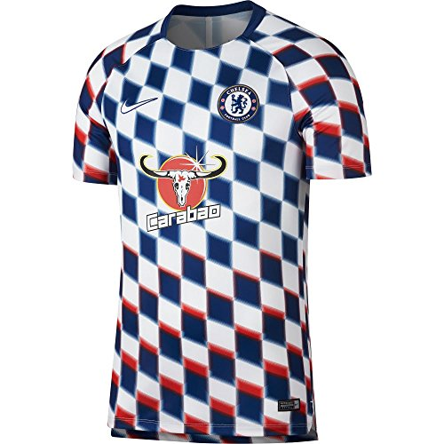 NIKE Chelsea Dry Fit Sqaud Top 2018/2019 - White - M