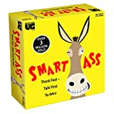 University Games Smart Ass The Ultimate Party Game for Families and Adults Ages 12 & Up, The Perfect Tabletop Trivia Game for People Who Hate Waiting Their Turn!
