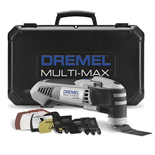 Dremel MM40-05 Multi-Max 3.8-Amp Oscillating Tool Kit with Quick-Lock Accessory...