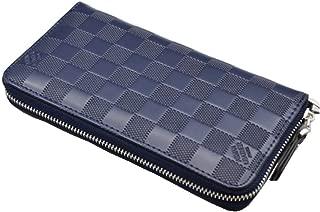 RFID Blocking Large Capacity Leather Clutch Wallet Organizer Ladies Purse