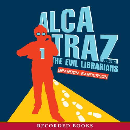 Alcatraz versus the Evil Librarians audiobook cover art