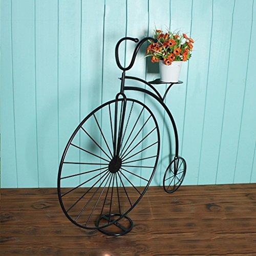 RH++ - Portaobjetos para Jardinera Grande de Color Blanco, portabicicletas para Interiores...