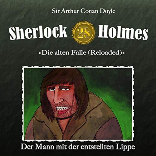 Page de couverture de Der Mann mit der entstellten Lippe
