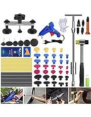 Fly5D Paintless Dent Repair Tool Kit 45 stuks volledige set Car Dent Removal Tool Kit New, Gold Dent Puller Lifter, Bridge Puller