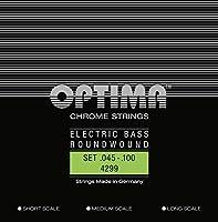 オプティマ(OPTIMA) エレキベース弦 プレミアムクローム 4299.R L