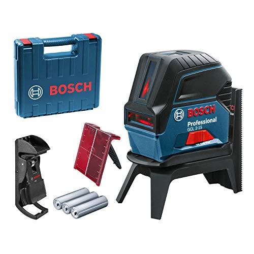 Bosch Professional kruislijnlaser GCL 2-15 In ambachtskoffer blauw