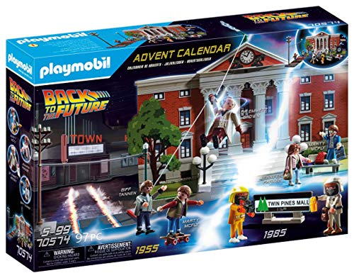 Calendario de Adviento de Playmobil de REGRESO AL FUTURO