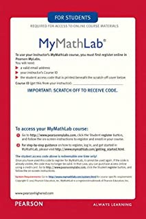 MyLab Math -- Glue-in Access Card (2nd Edition)