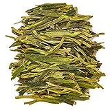 Oriarm 100g / 3.53oz Xi Hu Long Jing Dragon Well Tea Leaves - Chinese Longjing Green Tea Loose Leaf - Spring Dragonwell Tea Ecologically Grown
