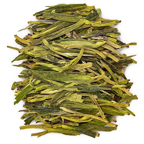 Oriarm Xihu Longjing Tè Verde in Foglie - Dragon Well Long Jing Tè Cinese - Yuqian 2nd Grade 250g