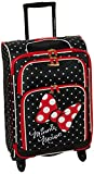 American Tourister Disney Softside Luggage with Spinner Wheels, Minnie Mouse Red Bow, Carry-On 21-Inch