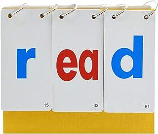 Tomaibaby Lezen Flash Card Boek 26 Alfabet Letter Spellen Spellen Voorschoolse Educatie Speelgoed Voor Leerkrachten Ouders...