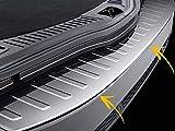 Gyxb Protector De Umbral De ProteccióN De Parachoques Trasero De Coche, para Ford Mondeo 4 IV Estate 2007-2015, Cubierta De ProteccióN De Panel De EscalóN Trasero De Acero Inoxidable