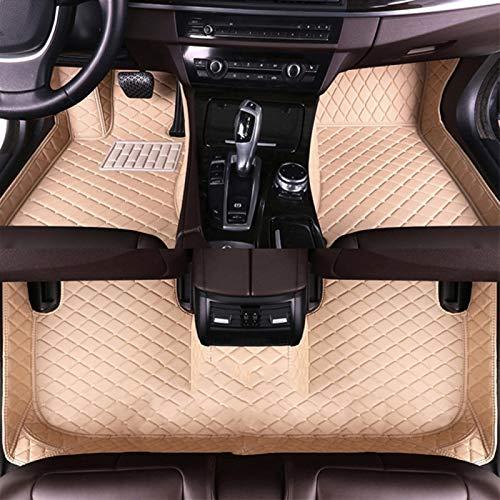 QXXKJDS Colinas del Piso De Los Automóviles para Jeep Compass 2008 2009 2010 2012 2012 2013 2013 2014 2015 2016 2017 Cojines Personalizados De Pie