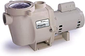 Pentair 011773 WhisperFlo High Performance Standard Efficiency Single Speed Up Rated Pool Pump, 1 1/2 Horsepower, 115/230 Volt, 1 Phase