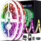 Strisce LED 20m WIFI, striscia LED intelligente Tiray Ledy RGB 5050 compatibile con Alexa Strisce led Google Home con controllo app Sincronizzazione remota con musica per casa, cucina, TV, bar, feste