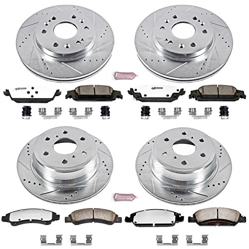 Power Stop K6560-36 Front & Rear Z36 Truck and Tow Brake Kit