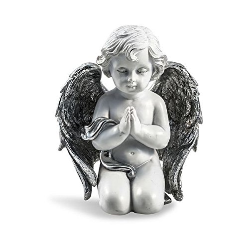 Pajoma Figura Silver de ángel Rezando, pequeño