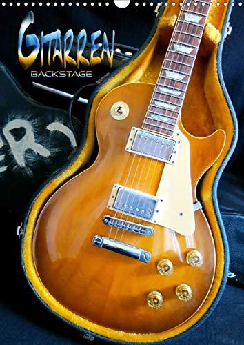 Gitarren backstage (Wandkalender 2021 DIN A3 hoch)
