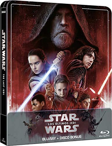 Star Wars: Los últimos Jedi (Edición remasterizada) - Steelbook 2 discos (Película + Extras) [Blu-ray]