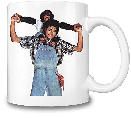 Michael Jackson With Monkey Mug Cup