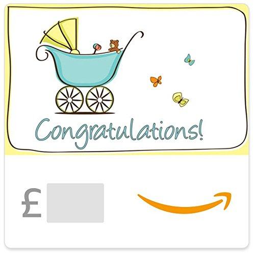 Congratulations! (Baby)- Amazon.co.uk eGift Voucher
