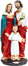 Generic Resin Holy Family Jesus Mary Joseph Religious Figurine Decoration Handpainted Sculptures Countertops Decoration Or...