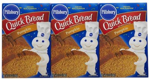 Pillsbury Pumpkin Quick Bread & Muffin Mix, 14 oz, 3 pk
