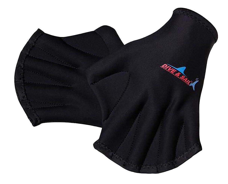 DIVE & SAIL Women Men Adult 2mm Diving Webbed Glove Snorkelling Neoprene Glove 009