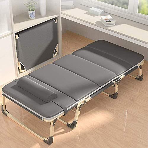 Sillones reclinables de gran tamaño, reclinables para personas pesadas, tumbonas, silla de gravedad cero para acampar al aire libre, viajes, sillas portátiles con almohadilla de algodón