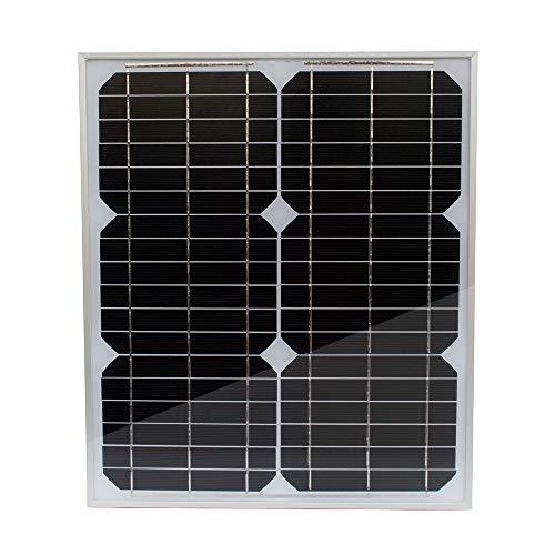 20W 12V monokristallijn zonnepaneel zonnecel zonnecel voor auto motorfiets tractor boot batterijen 12V batterijen