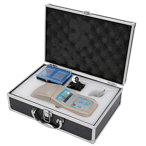 Walfront Testeur de Qualité de Eau Testeur de Chlore Résiduel Portable Analyseur de Détecteur Chlore pour Détection Concentration Chlore(110-240V)