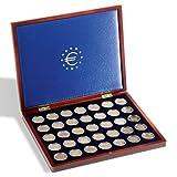 Leuchtturm 323638 Estuche para Monedas VOLTERRA UNO de Luxe, para 35 Monedas de 2 Euros en cápsulas