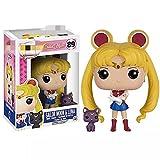 agzhu Pop Anime Japonés Lindo Sailor Moon Luna 10Cm Vinilo Figura De Acción Colección Modelo Juguete...