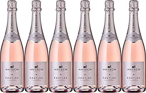 6x Cremant de Limoux Brut Rosé Émotion 2018 - Weingut Maison Antech, Languedoc-Roussillon - Weißwein