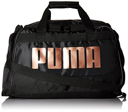 PUMA Women's Evercat Dispatch Duffel, black/bronze, OS