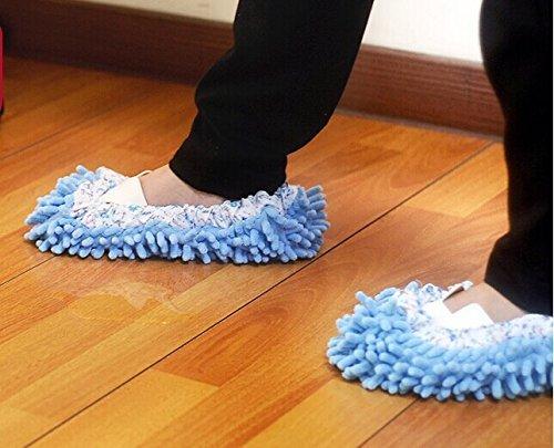 fendii casa Pavimento Ciabatte pattine per pulire il pavimento bagno, ufficio e cucina