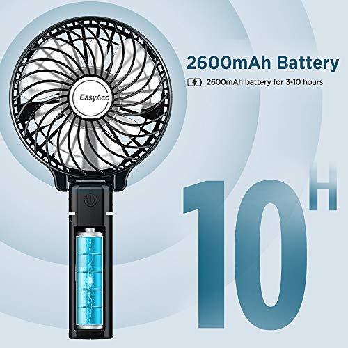 USB-Ventilator EasyAcc Handventilator tragbar Bild 2*