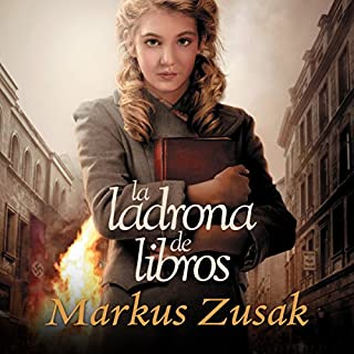 La ladrona de libros audiobook cover art