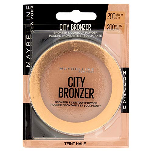 Maybelline New York - Poudre Bronzante et Sculptante - Face Studio City Bronzer Medium Cool (N°200)