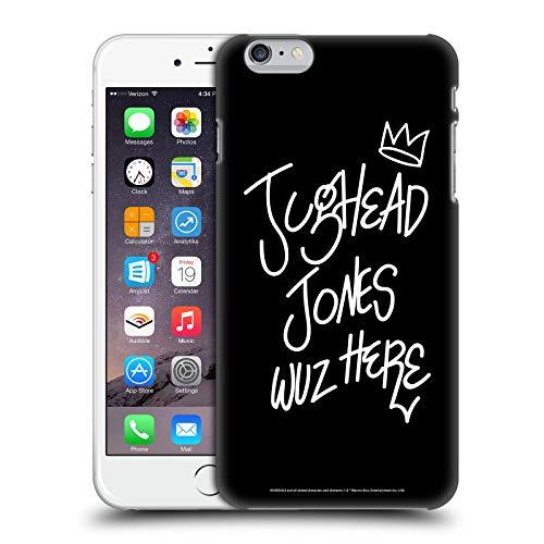 Head Case Designs Oficial Riverdale Jughead Wuz Aquí Arte Gráfico Carcasa rígida Compatible con Apple iPhone 6 Plus/iPhone 6s Plus