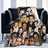 Yuantaicuifeng Sebastian Stan Bucky Barnes sofá and Comfortable Warm Fleece Blanket for Sofa, Bed, Office Knee Pad,Bed Car Camp Couch Cozy Plush Throw Blankets