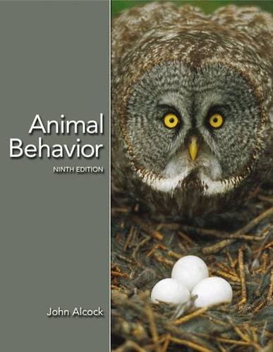 Animal Behavior: An Evolutionary Approach, Ninth Edition
